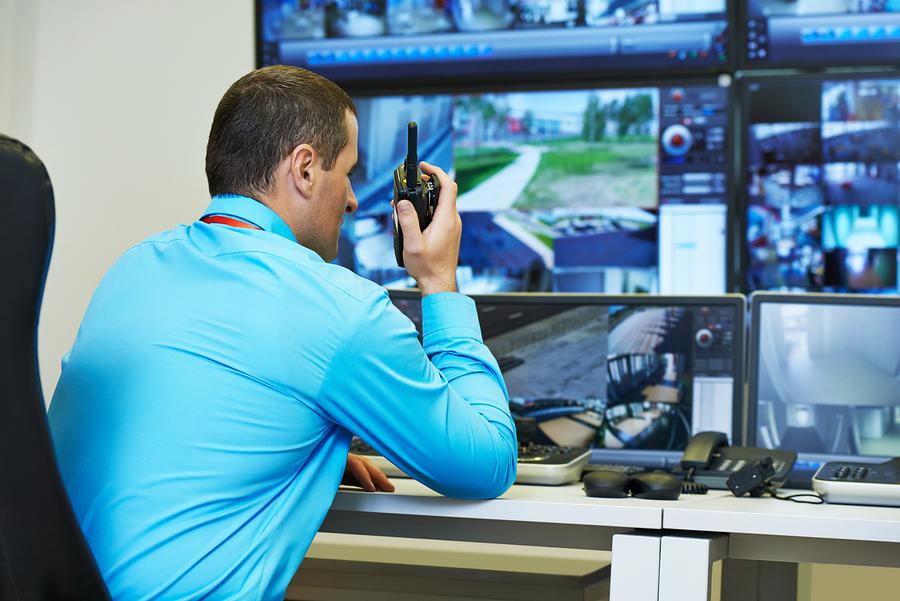 systeme alarme commercial relie a centrale de surveillance