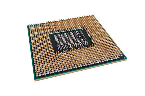 Le microprocesseur fait partie d'éléments à recycler par une compagnie informatique.