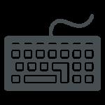 Un clavier d'ordinateur est un élément que votre compagnie peut donner au recyclage informatique.