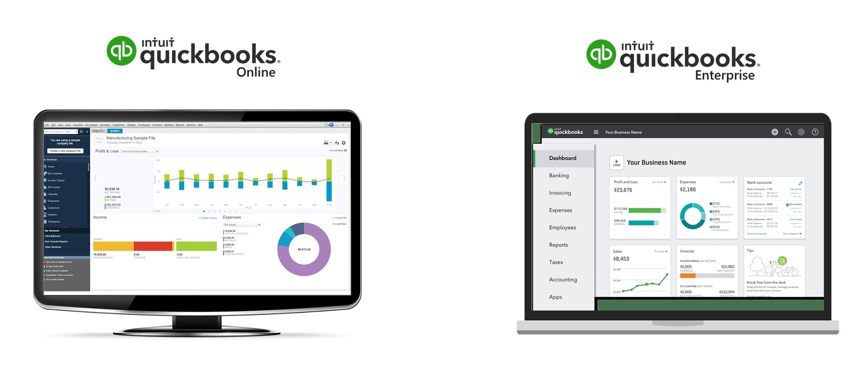 quickbooks logiciel entreprise comptabilite