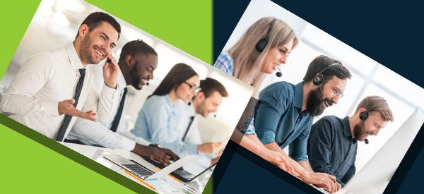 Faites la paire avec la perle des centres d'appel télémarketing pour votre entreprise