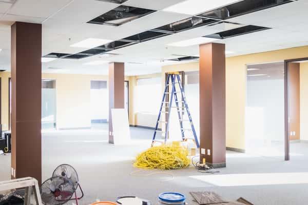 renovation commerciale entrepreneur construction