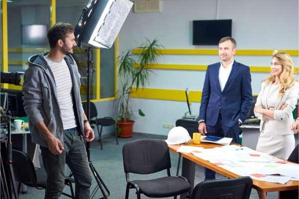 tournage film promotionnel entreprise
